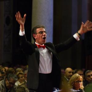 Il maestro Paolo Beretta