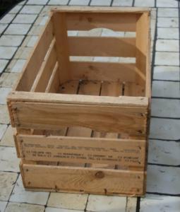 Cassette in legno ikea