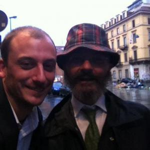 Diego Jurkovic con Oscar Giannino